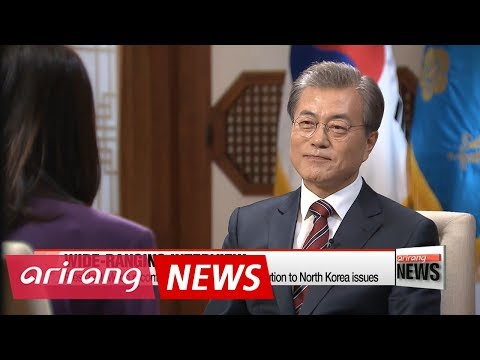 President Moon reconfirms determination for peaceful resolution on North Korean issues