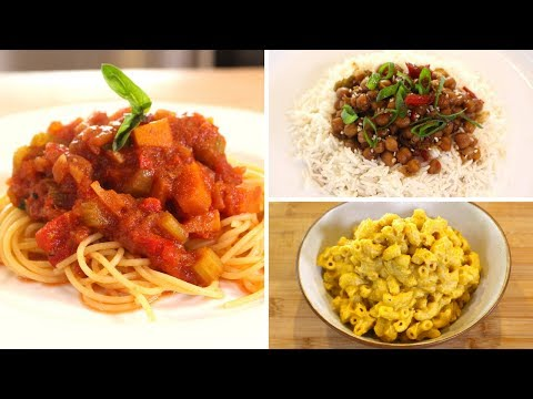 Best Slow Cooker 'Dump Dinners'   No Meat or Dairy   3 Budget Recipes