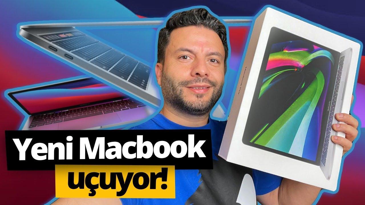 📦💻| macbook air m1 space gray kutu açılımı + koruma kabı