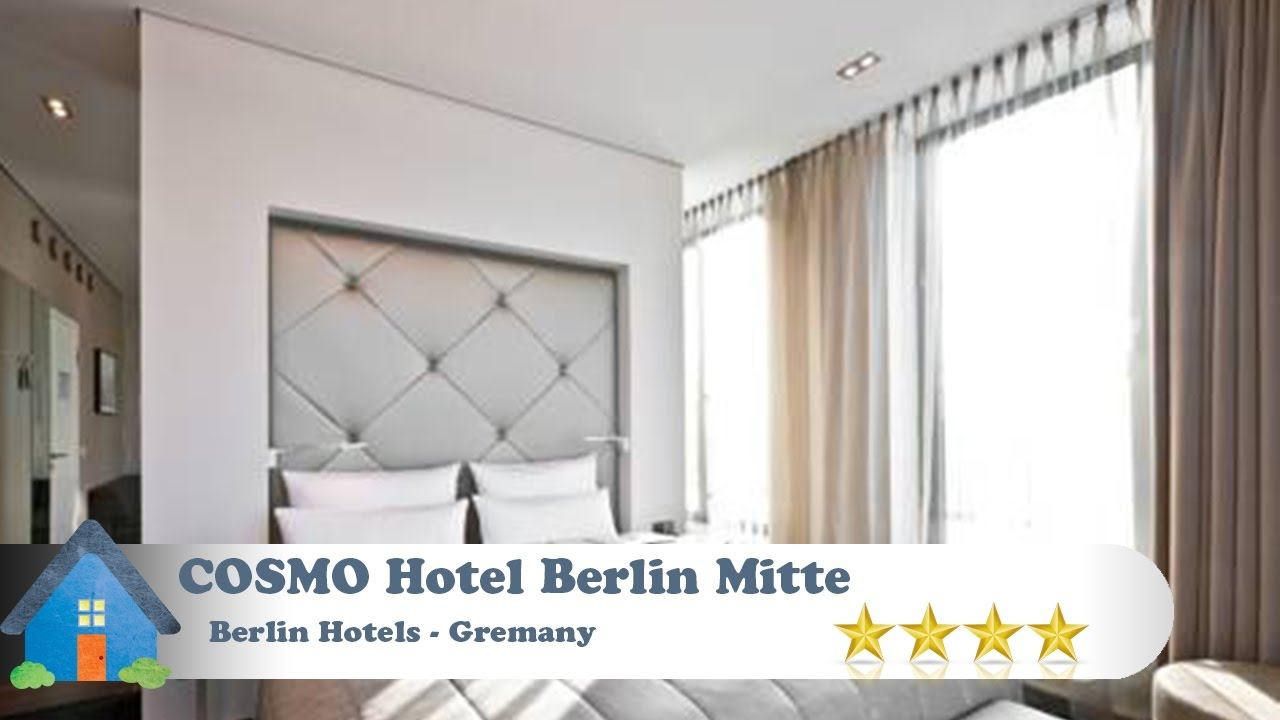 cosmo hotel berlin mitte berlin hotels germany youtube. Black Bedroom Furniture Sets. Home Design Ideas