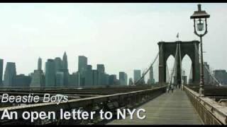Beastie Boys - An open letter to NYC Remix