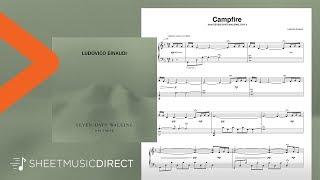 Campfire Sheet Music - Ludovico Einaudi - Piano Solo Seven Days Walking Day 3