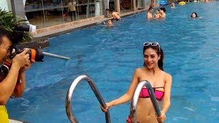 Sexy hot girl bikini - Backstage Bikini hot at the pool #sexybikini #sexyhotgirl