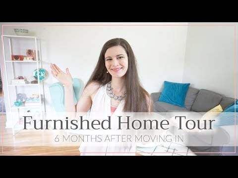 Furnished House Tour • 6 Months After Moving In