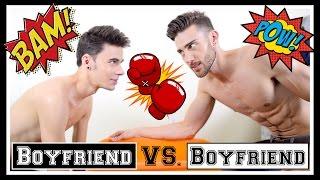 'BOYFRIEND' vs. 'BOYFRIEND'