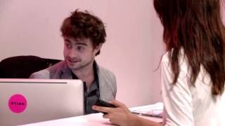 Daniel Radcliffe Was Our Receptionist for an Hour thumbnail