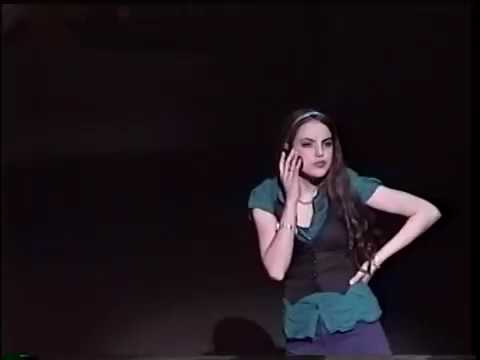 Ariana grande and liz gillies  in the musical 13
