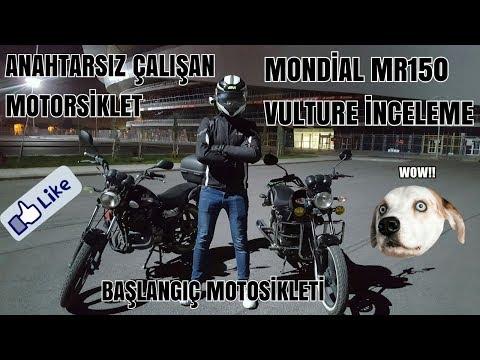Anahtarsız Çalışan Motosiklet | Mondial MR150 Vulture İncelemesi | Başlangıç Motosikleti |Mr. Eker