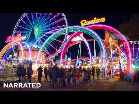 Hyde Park Winter Wonderland 2019 (Narrated) ✨ Christmas Walking London
