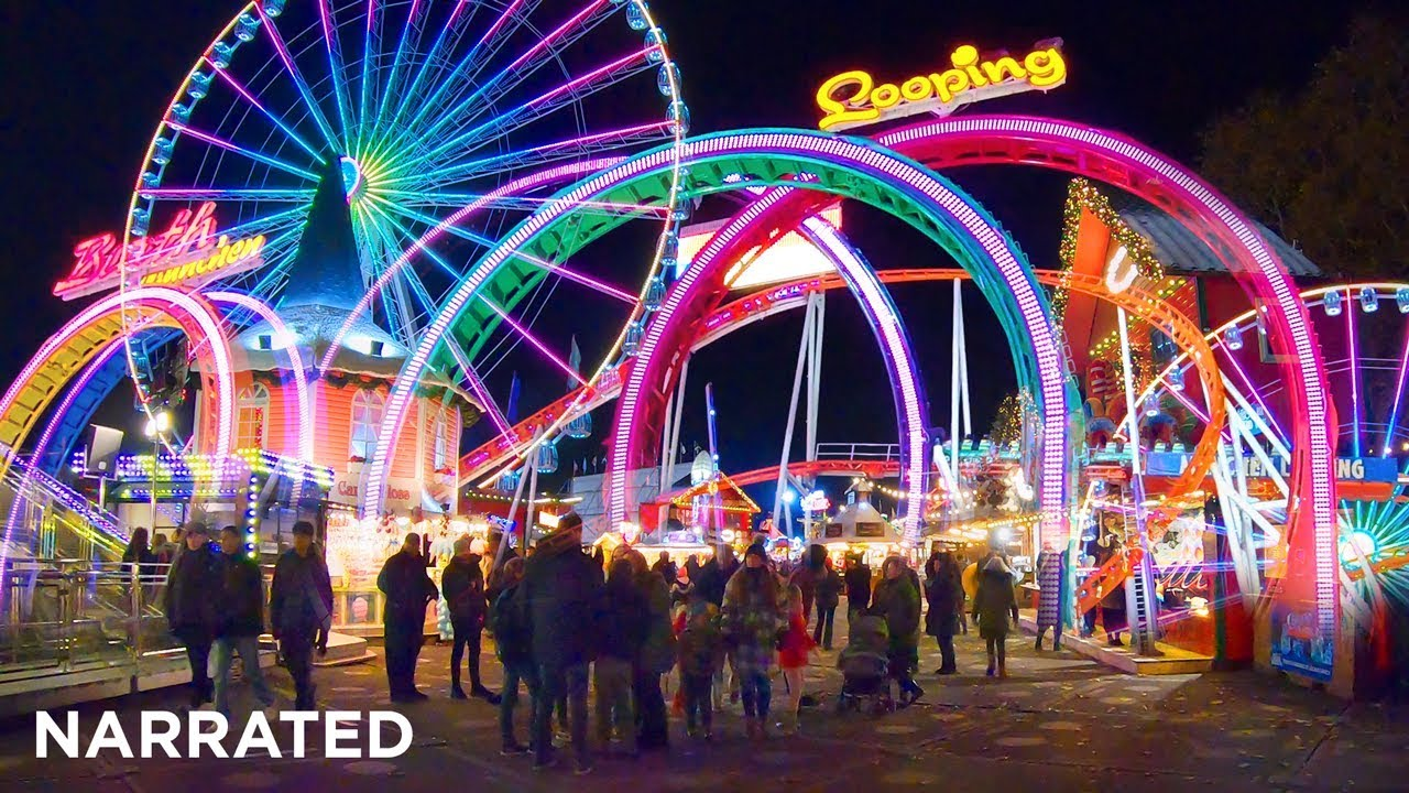 Christmas Wonderland 2020 Hyde Park Winter Wonderland 2019 (Narrated) ✨ Christmas Walking