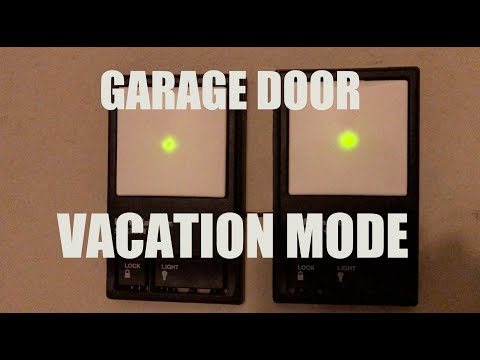Unlock Garage Door Opener Wall Control Unit Doovi