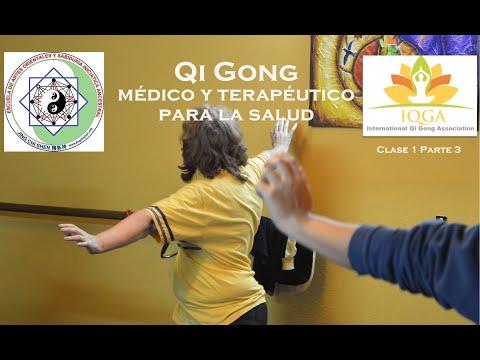 Clase 1 Parte 3 | Conexión con el cielo y la tierra - Dan tian - Energía vital | Qi Gong terapéutico