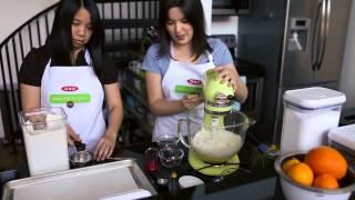 Baking A Difference: Meyer Lemon & White Chocolate Biscotti