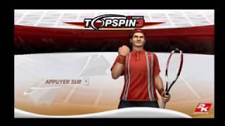 "[Wii] Introduction du jeu ""Top Spin 3"" de 2K Sports (2008)"