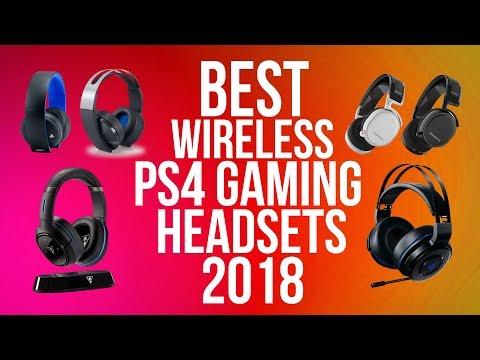 BEST PS4 WIRELESS GAMING HEADSET 2018 | WIRELESS VERSION | TOP 10 PS4 GAMING HEADPHONES
