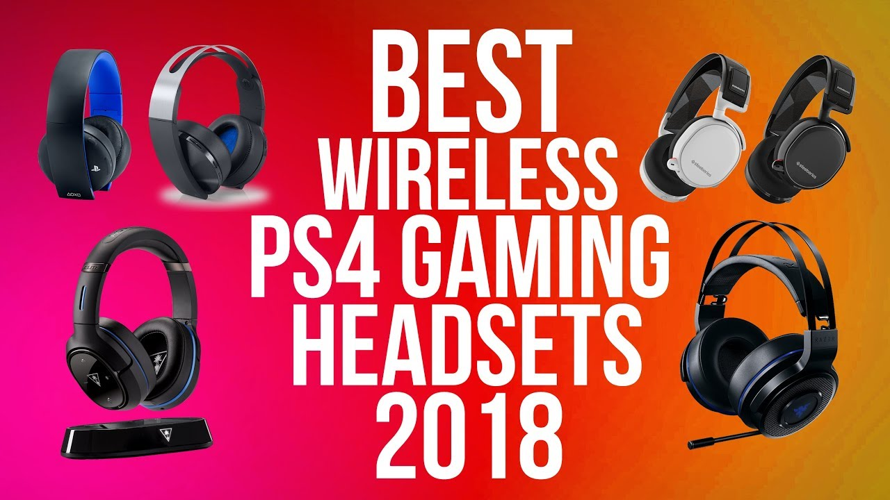 best ps4 wireless gaming headset 2018 wireless version. Black Bedroom Furniture Sets. Home Design Ideas