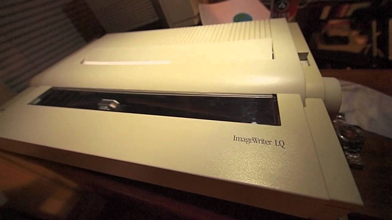 IMAGEWRITER LQ DRIVERS FOR PC