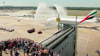 Der A380 - jetzt auch am Düsseldorf Airport