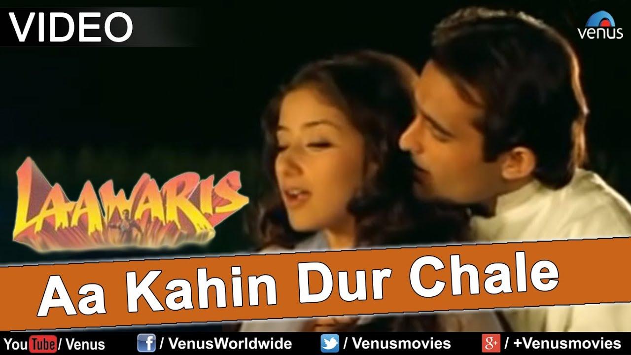 Aa Kahin Dur Chale Full Video Song Laawaris Akshay Khanna Manisha Koirala Youtube