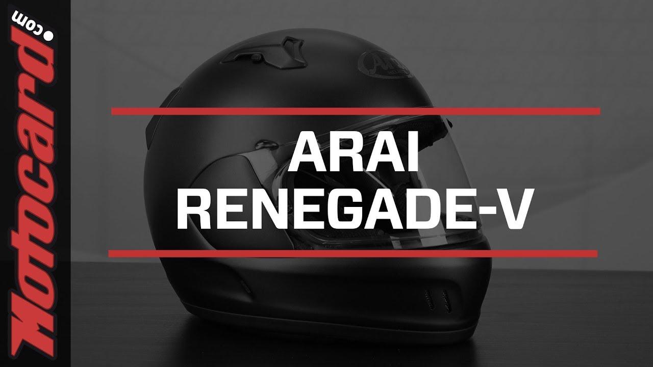 Review: Arai Renegade-V, a helmet for lovers of Cruiser