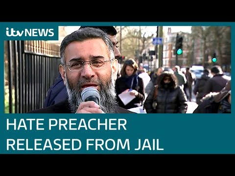 Anjem Choudary released from prison | ITV News