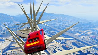 CRAZY MODDED WINDMILL BLENDER! (GTA 5 Funny Moments)