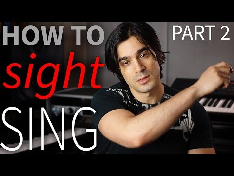 How to Sight Sing in ANY Key! (Interactive Singing Lesson)