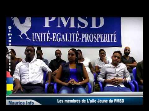 Dimans Politik - L'Aile Jeune du Parti Mauricien Social Démocrate