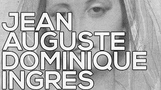 Jean Auguste Dominique Ingres: A collection of 108 sketches (HD)