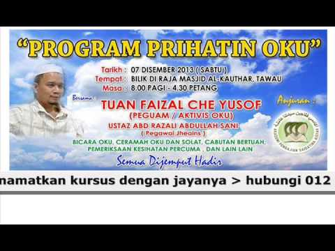 PROGRAM PRIHATIN OKU - DI TAWAU SABAH