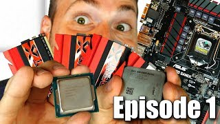 Beginners Guide: How to Build a Gaming PC Ep. 1  - CPU Motherboard & RAM Buyers Guide