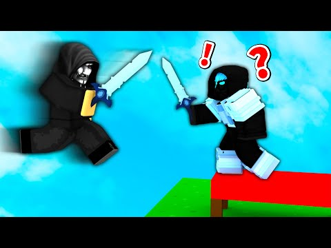 playing until I lose in Roblox Bedwars..