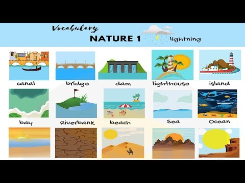 Nature Words: Useful Nature Vocabulary in English 7 E S L