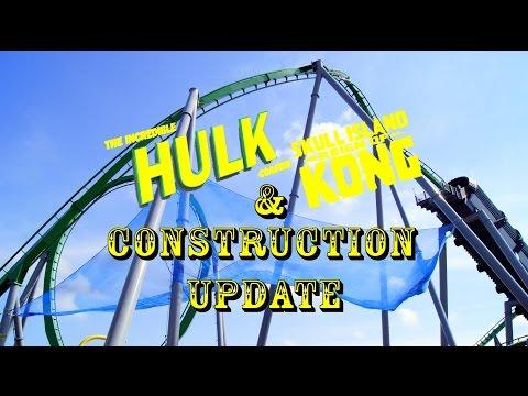 Universal Orlando Resort Construction Update 5.16.16 Hulk / Kong Additions, Fallon / Furious Changes