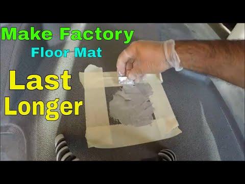 Making Factory Floor Mat Last Longer  DIY Mercedes Sprinter