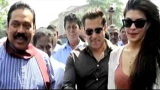 Salman Khan agrees to campaign for Sri Lankan President Mahinda Rajapaksa, upsets Tamil parties