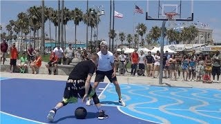 The Professor and Bone Collector Taking ANKLES at Venice Beach. EPIC Scenery Video