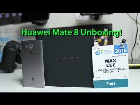 huawei mate 8 unboxing first impressions youtube