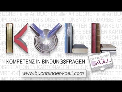 Buchbinderei    Der Buchbinder KÖLL in Innsbruck, Tirol, Austria