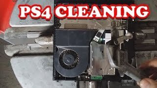PS4 ZAPCHANY RADIATOR ?? // CLEANING PS4 // 1,5 roku użytkowania //