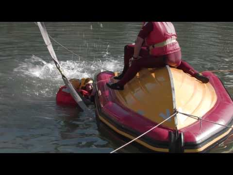 RIB capsize training
