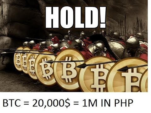 Bitcoin PHP 1MILLION! |my Altcoins UPDATE! HOLD!(tagalog)
