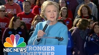 Hillary Clinton Goes After Donald Trump For Tweet About 'Total Disaster' In Mosul | NBC News