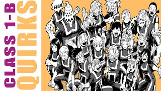 My hero Academia - All Names and Quirks of Class 1B