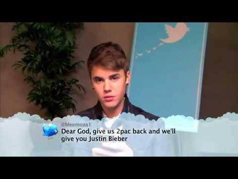 """Justin Bieber reading a tweet """"dear - 14.9KB"""