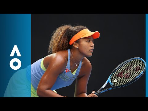 Ashleigh Barty v Naomi Osaka match highlights (3R) | Austral