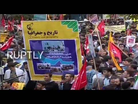LIVE: Demonstration takes place in Tehran on anniversary of 1979 US Embassy takeover