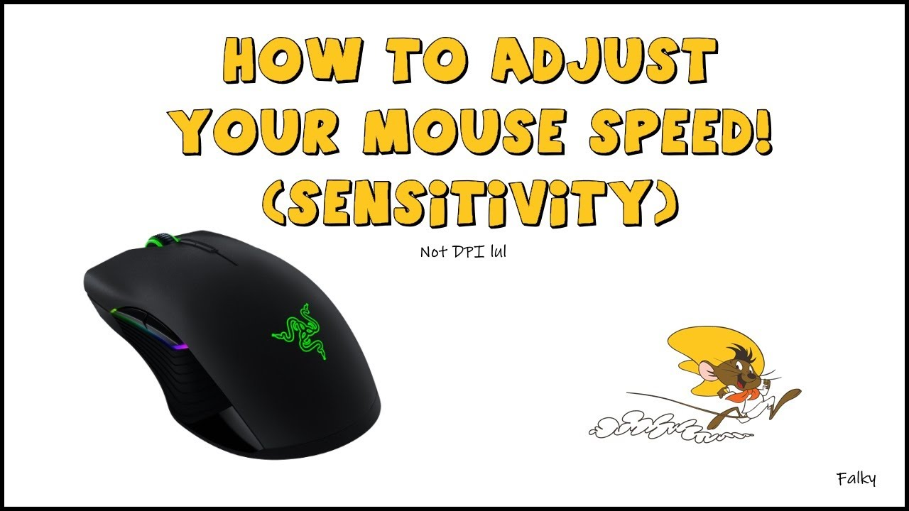 Tech Solutions | How to Adjust Your Mouse Sensitivity (CPI) Settings