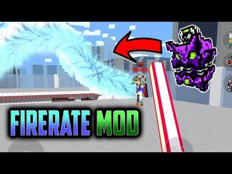 THE BEST PG3D MOD IS BACK!!! - Pixel Gun 3D Firerate Mod