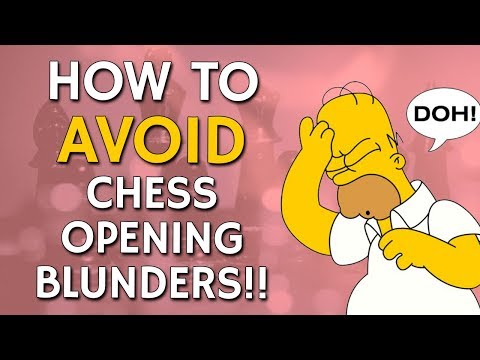 How to Avoid Chess Opening Blunders with GM Damian Lemos